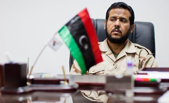 Libya's Belhaj quits military to enter politics