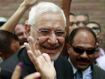 المرشح الرئاسي عبدالمنعم أبوالفتوح يعلن دعم مرسي