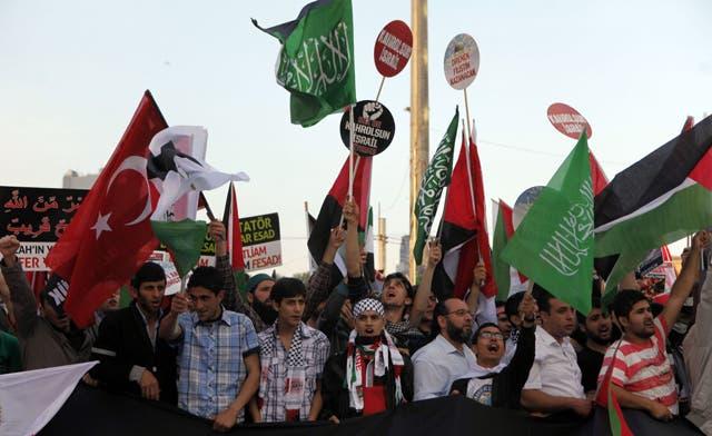 Thousands remember victims of Israel raid on Gaza flotilla