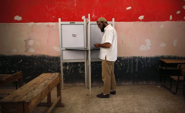 Egypt voter turnout lower in run-off than in first round: election commission