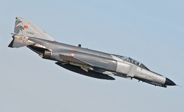 Turkey confirms Syria shot down F-4 military jet, search for pilots ongoing