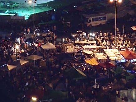 مصر: میدان تحریر میں عوامی اجتماع سے جنوری 2011ء کے انقلاب کی یاد تازہ