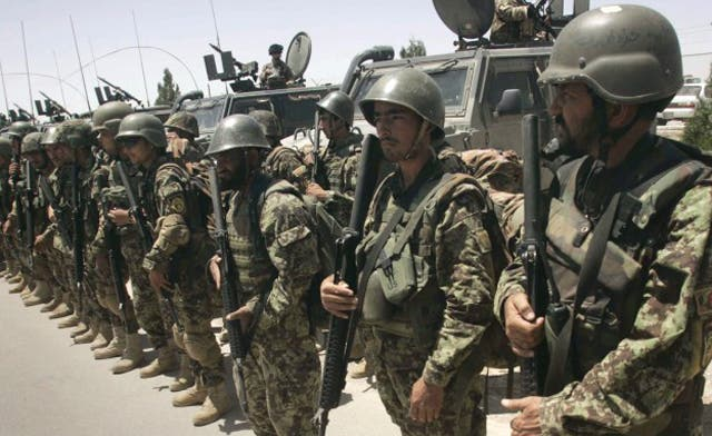 Afghan forces need reading lessons before security transfer