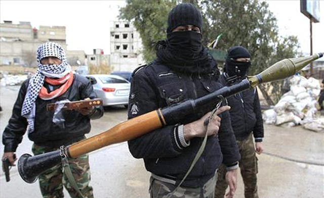 Saudi Arabia to pay salaries of Syrian opposition fighters: report