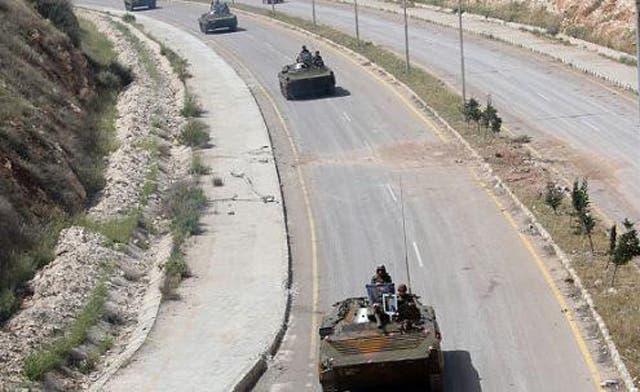 Syrian regime tanks amass near Turkish border, says FSA general