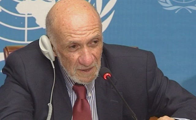 The Middle East peace process is a 'trick,' says U.N. rights rapporteur