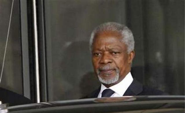 Annan sees 'shift' in Russia and China positions on Syria