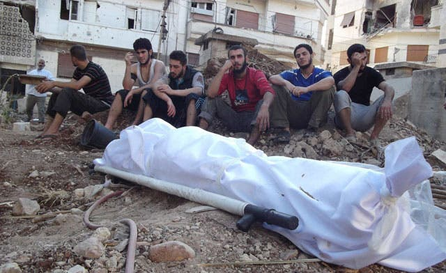Syria's death toll crosses 17,000, victims mostly civilians: opposition group