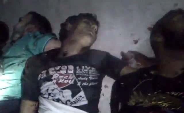 Activist claims Syria massacre dead mostly rebels; videos show victims