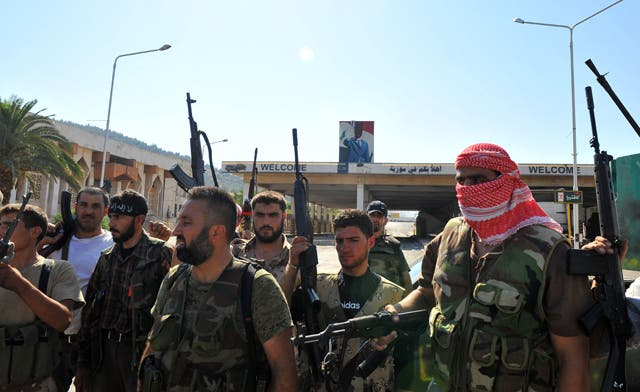 Free Syrian Army seizes control of 4 border crossings with Turkey, Iraq