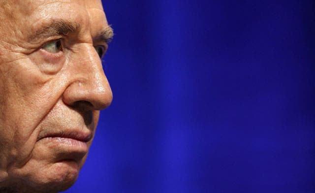 Israel is in 'open war' with Iran: Shimon Peres