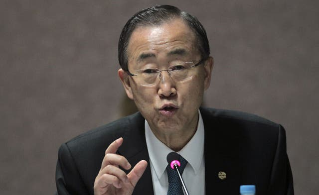 U.N. chief urges Syria not to use chemical weapons 'under any circumstances'