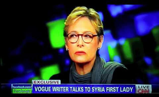 Vogue journalist claims to have been duped by Syrian First Lady