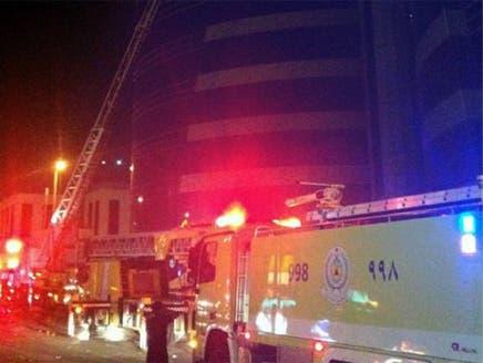 السلطات تؤكد أن حريق المحكمة بالرياض ليس جنائياً