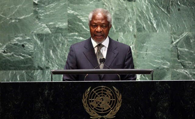 Annan quits as Syria peace envoy; says Assad will have to leave sooner or later