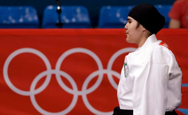 Saudi Arabia's first female judoka out of Olympics