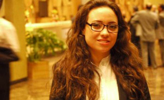 In last act of power, Libyan transitional head fires ceremony hostess