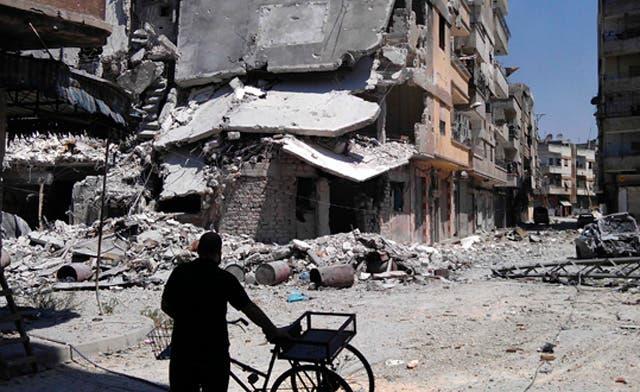 Iranian officers led Syrian regime militias in Homs: defected general