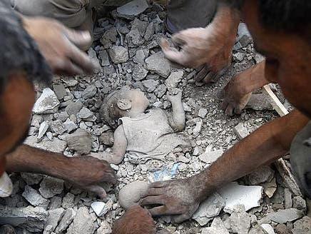 """""""العربية.نت"""" تنشر صوراً مرعبة لمجزرة أعزاز في حلب"""