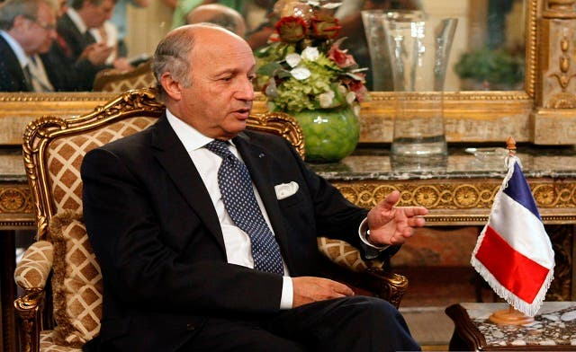 Syrian regime should be 'smashed fast': French foreign minister