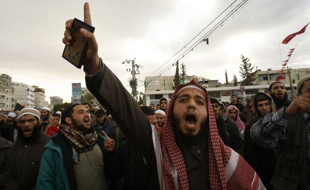 Gaza Salafists slam Hamas for post-Sinai attack crackdown