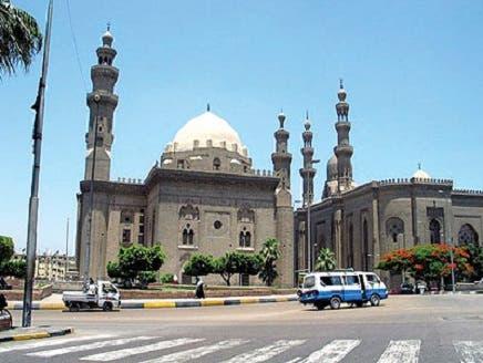 صيانة مسجد السلطان حسن بقلعة صلاح الدين بالقاهرة
