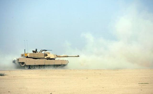 Iraq takes delivery of final batch of U.S. tanks