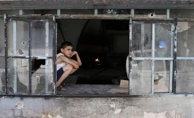 Children worst hit by air strike in Syria's Aleppo