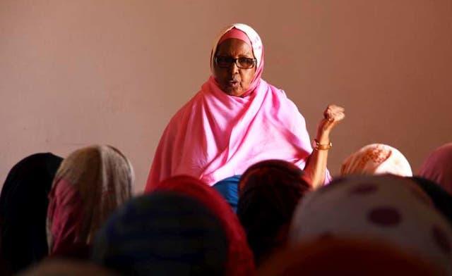 Somali woman helping rape victims wins U.N. award