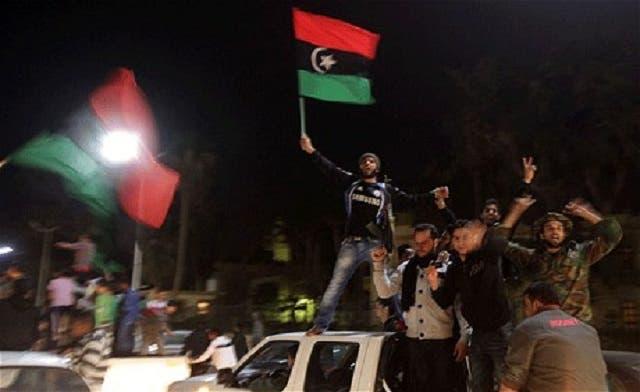 Libyan demonstrators wreck militia compound in Benghazi