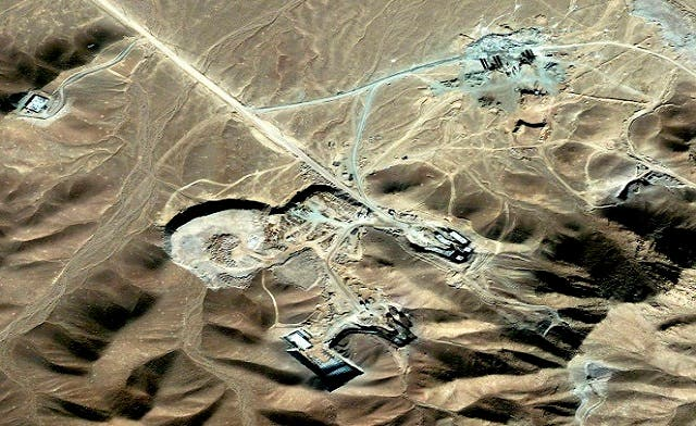 Spy device disguised as rock blown up near Iran nuclear site
