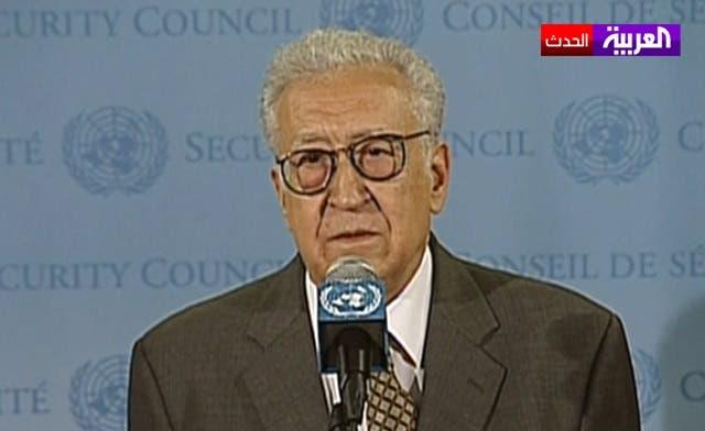 Assad wants to return to 'the old Syria,' says U.N. envoy Brahimi