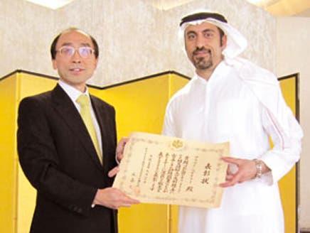 اليابان تكرم الإعلامي أحمد الشقيري لمجهوده الثقافي
