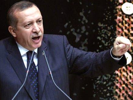 أردوغان: الطائرة السورية تحمل ذخائر روسية للنظام