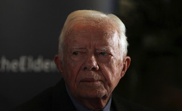 U.S. has 'zero' influence over Israel, Palestinians: Carter