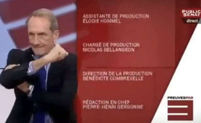 Ex-French minister's 'arm' strains ties with Algeria