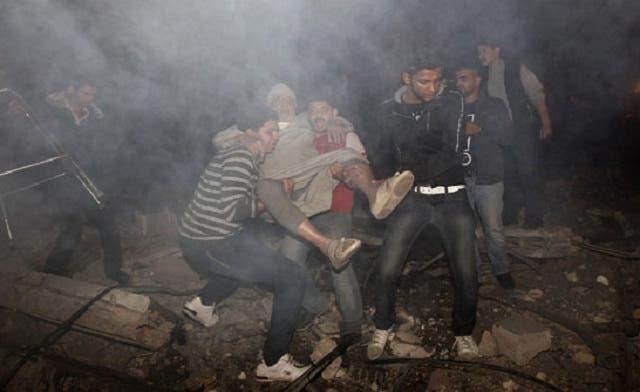Intensive Israeli airstrikes blitz Gaza Strip as death toll mounts