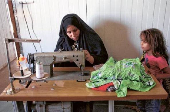 Center offers training courses to help Iraqi widows