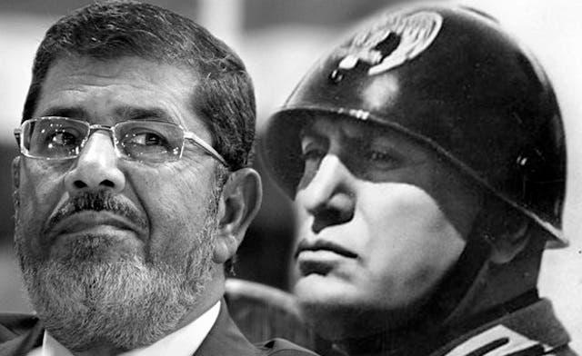 Meet Egyptian President Mohammed Mursi ... aka 'Morsillini'