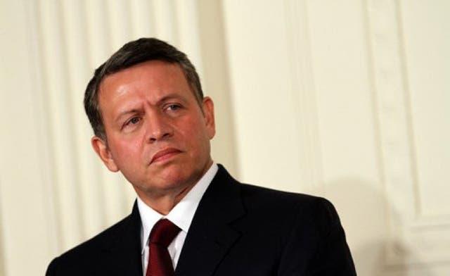 Jordan king arrives in Ramallah after U.N. vote