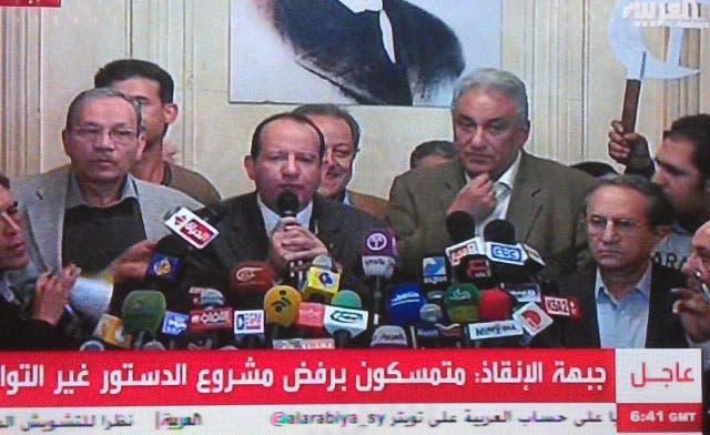 Mursi, Brotherhoods hijacking Egypt: National Salvation Front