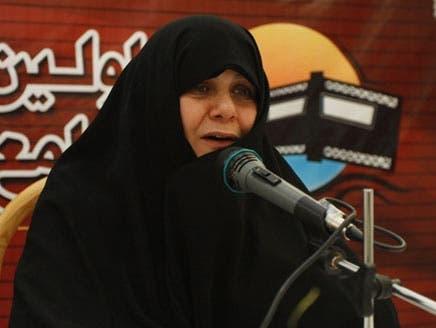 نائبة أحمدي نجاد: المرأة يكتمل عقلها في سن الـ40
