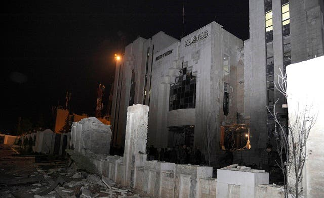 Jihadist group claims Syria interior ministry attack