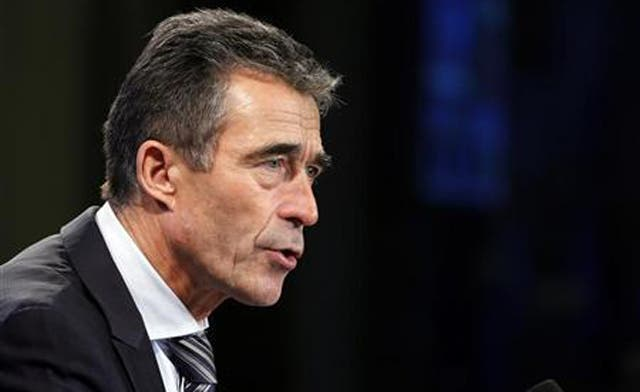 Syrian regime 'approaching collapse': NATO's Rasmussen