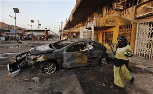 Series of blasts in Iraq kill at least 25