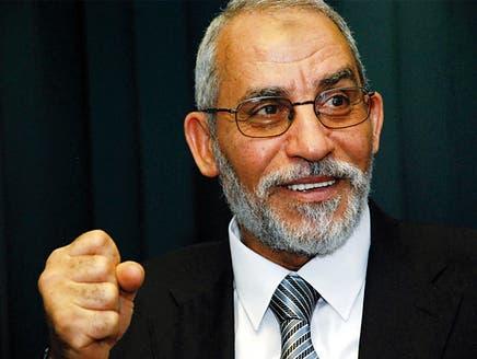 تقرير يضع مرشد الإخوان على رأس قائمة المعادين لليهود