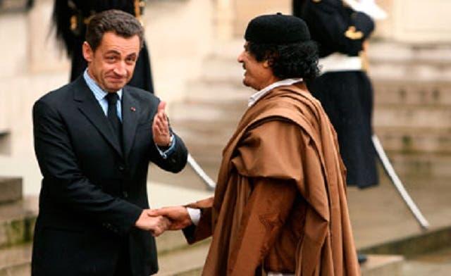 Sarkozy received '€50 million' from Qaddafi: report