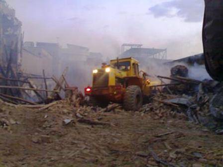 لودرها محل برگزاری جلسات دراویش در شهرکرد را جهت تخریب محاصره کرده اند