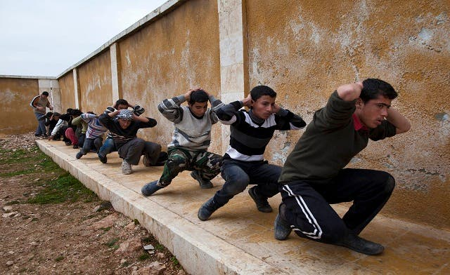 Rebels train Syrian teens to become 'killing machines'