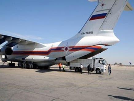 روسيا تنقل مساعدات إنسانية إلى سوريا وتجلي رعاياها
